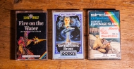 Fire on the Water, Never Ending Story and Espionage Island for ZX Spectrum